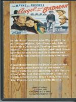 Angel and The Badman (1947) Back Cover DVD on Demand